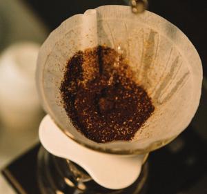 Kaffeesatz als Dünger - Filter