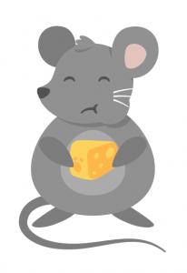 Maus im Haus: Essen